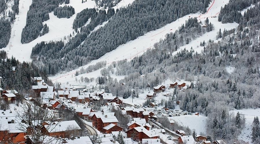 Ski de Noël à Méribel