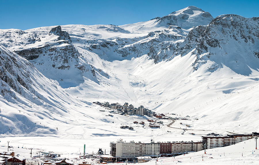 Tignes villages