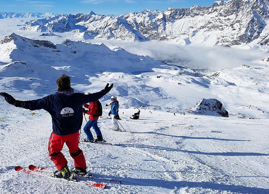 top 5 ski resorts in italy