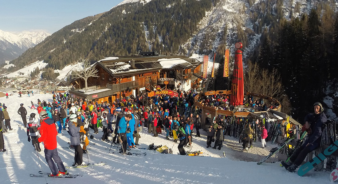 St Anton ski resort