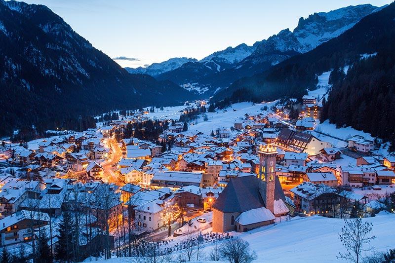 Val Di Fassa Ski resort